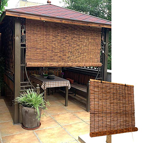 L-DREAM Bamboo Shades For Window, Outdoor Bamboo Roller Blinds, Cool,...