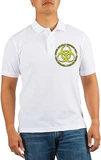 Zombie Outbreak Response Team Golf Shirt - Golf Shirt, Pique Knit Golf Polo
