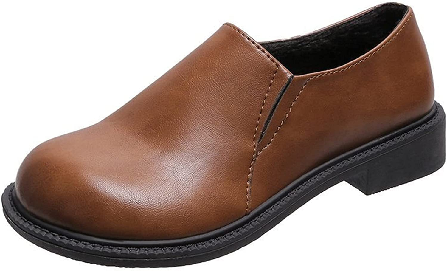 Women's Genuine Leather San Diego Mall Oxford Dress Shoes Up Popular overseas Flats Lace
