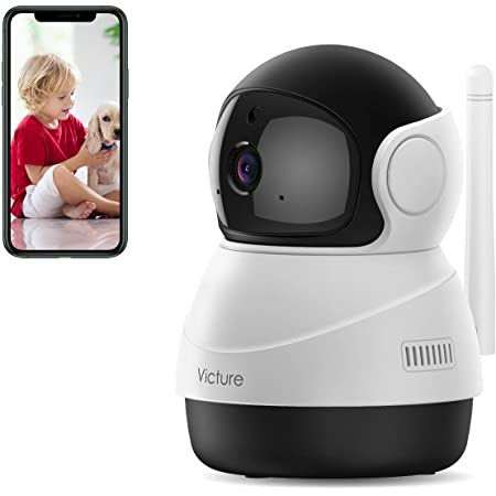 SAWAKE 1080P HD Camera WiFi Camera Indoor Home Security Camera Baby Pet Monitor Security Surveillance Support Onvif Cloud Storage Night Vision Two-Way Audio Motion Detection Wireless IP Camera
