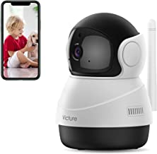 [2020 Upgraded] Victure 1080P Pet Camera, Wi-Fi Home Security Camera, Sound Detection, Motion Detection and Tracking, Two-...