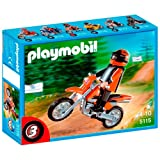 Playmobil - 5115 - Jeu de construction - Motocross
