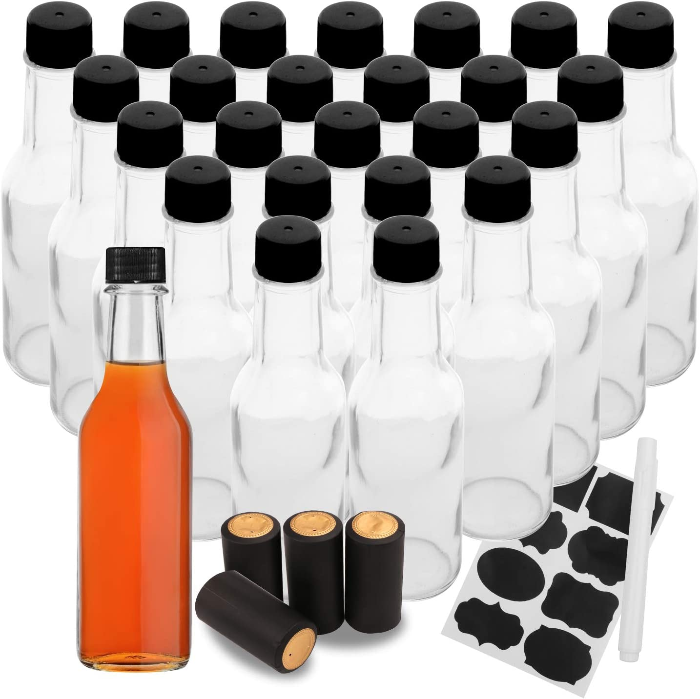 5oz 150ml Hot Sauce Bottles for Bottle Sales of SALE items from new works Glass Oil Clear Austin Mall