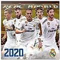 ERIK - Real Madrid 2020 Wall Calendar, Home Office Planner, (16 Months), 30 x 30cm