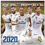 ERIK - Calendario de pared 2020 Real Madrid, 30 x 30 cm