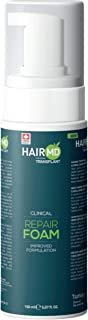 HairMD Transplant Clinical Repair Foam - 150ml Men's Hair Growth Foam - Nourishes and Moisturizes Post-Transplant Skin - G...