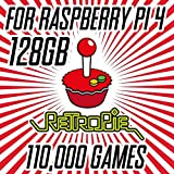 Retropie 128GB with 110,000 Games Plus KODI for Raspberry Pi 4