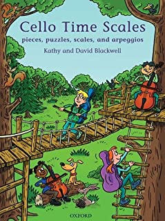 Cello Time Scales: Pieces, puzzles, scales, and arpeggios