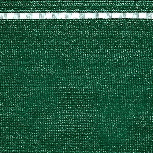 tenax Coimbra, Rete Tessuta Ombreggiante Frangivista, 1,00x5 m, Verde, Schermatura Totale