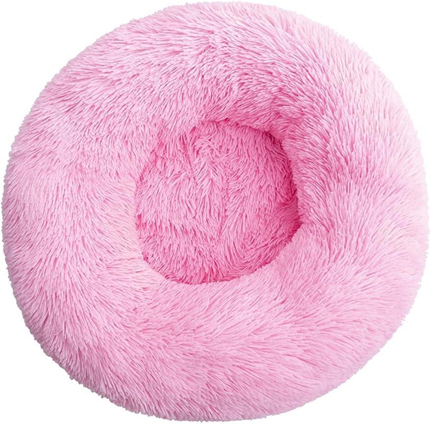 Super sale JNXY Donut Dog Limited time cheap sale Bed Warm Soft Long Samll for Cushion Pet La Plush