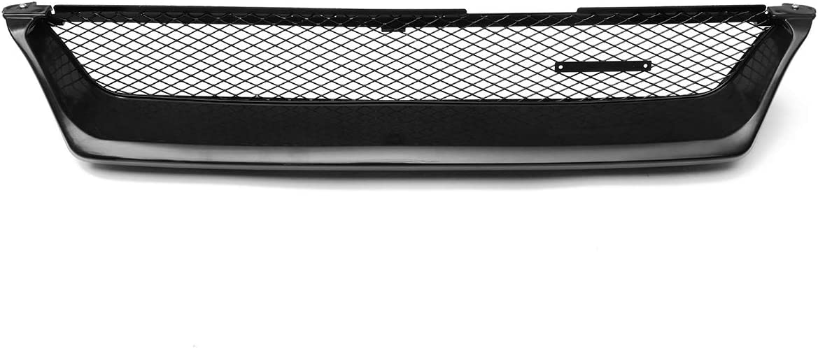 Japan Maker New DFYYQ Glossy Black Racing Grills Car Max 59% OFF Grill W Bumper Grille Front