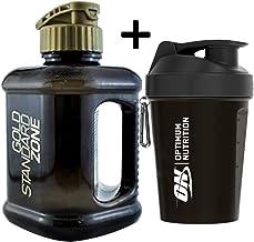 Optimum Nutrition Gym Protein Shaker 400ml 2 Litre Water Bottle Jug Estimated Price : £ 24,99