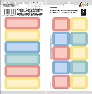 Ades Organizador Ret Color Tilibra, Multicor