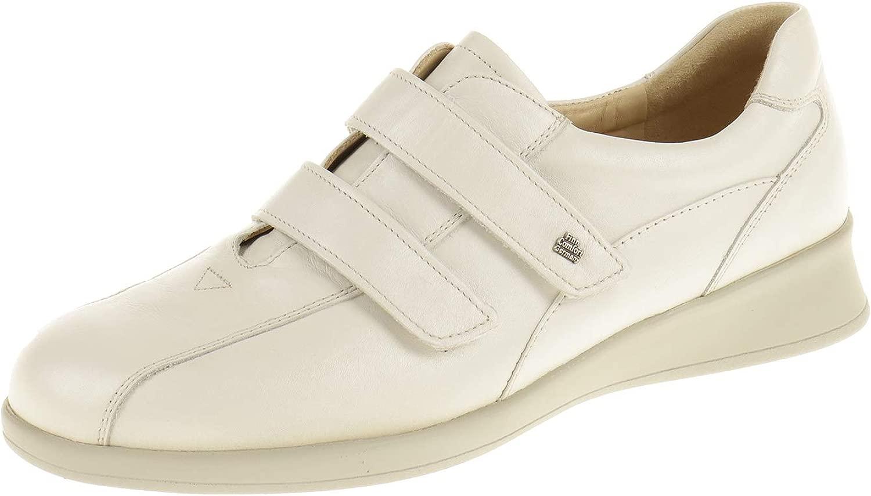 Damen Schuhe Halbschuh mit Klettverschluss Turnschuhe Nairobi Muschel Beige 3558050008