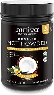 NUTIVA POWDER MCT VANILLA,, 10.6 Ounce ()