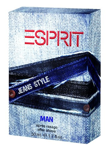 Esprit Jeans Style man After Shave 50 ml, per stuk verpakt (1 x 50 ml)