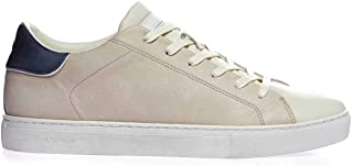 Luxury Fashion | Crime London Men 1154115 Beige Leather Sneakers | Spring-summer 20