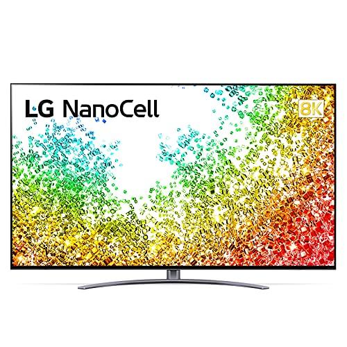 """LG NanoCell 75NANO966PA Smart TV 8K LED Ultra HD 75"""" 2021 con Processore 8K α9 Gen4, Dolby Vision IQ, Wi-Fi, webOS 6.0, Google Assistant e Alexa Integrati, 4 HDMI 2.1, Telecomando Puntatore"""