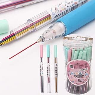 lunji 3pcs Porte-Mine/ regali per gli studenti 0,5/mm /Matita 2B colori casuali