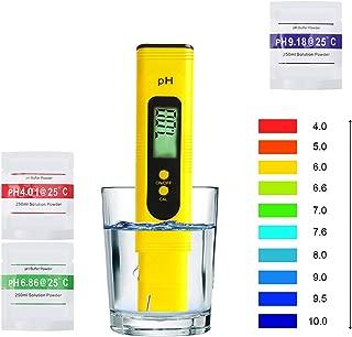 Phテストペン KIPTOP PH計 PH測定器 PHメーターデジタルテスター、スイミングプールの水質テスター、LCDディスプレイ、高精度および自動キャリブレーション機能付き、飲料水に最適