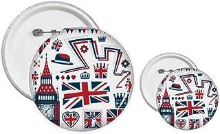 Kit de création de badges et boutons Motif soldat Big Ben