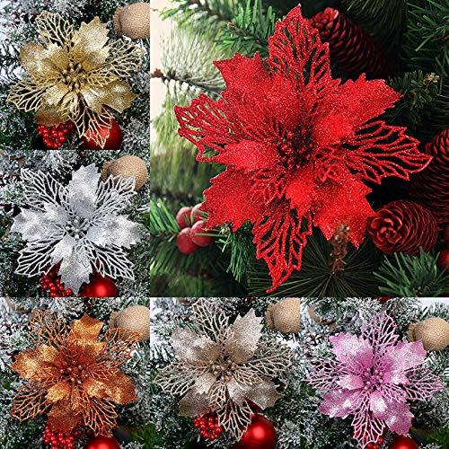 Wedding Maple Leaf Snow Flower Metal Die Cuts,Christmas Snowflake Srping Flower Cutting Dies Cut Stencils for DIY Embossing Card Making Photo Decorative Paper Dies Scrapbooking