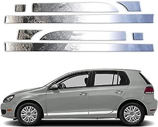 Brighter Design 8p 3' Tapered Rocker Panels fits 2010-2014 VW Golf 4 Door