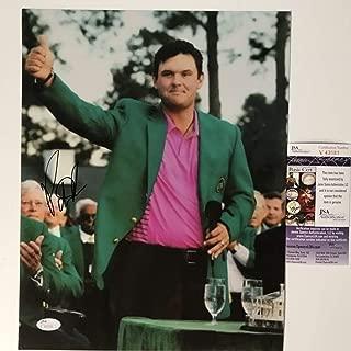 Autographed/Signed Patrick Reed 2018 Masters Champion PGA Tour Golf 11x14 Photo JSA COA #1