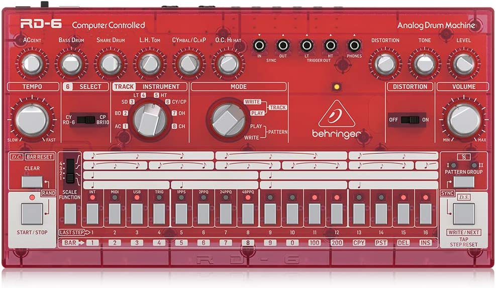 Behringer Electronic Drum wholesale Controller RD-6-SB Bombing new work