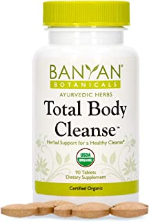 Banyan Botanicals Total Body Cleanse – Organic Detox Supplement with Amla & Manjistha – Supports Ayurvedic Cleanses, Detox...