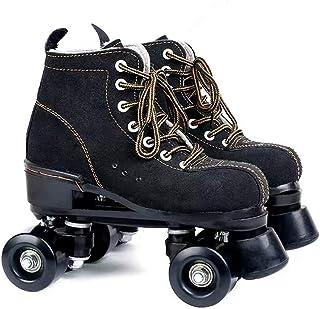 Classic Quad Skates Women Men Premium Leather Rink Roller Skate