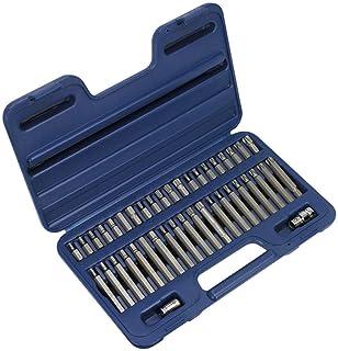 """Sealey AK219 - TRX-Star/Spline/zestaw bitów sześciokątnych 42 szt. 3/8"""" i 1/2"""" Sq Drive"""