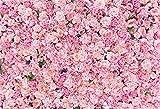 YongFoto 3x2m Vinilo Fondo de Fotografia Decoración de Flores de la Boda Fondo de Flores Frescas...