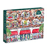 Puzzle - Michael Storrings A Day at the Bookstore: 1000 piece Puzzle