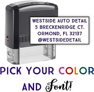 Best custom self inking return address stamp Reviews