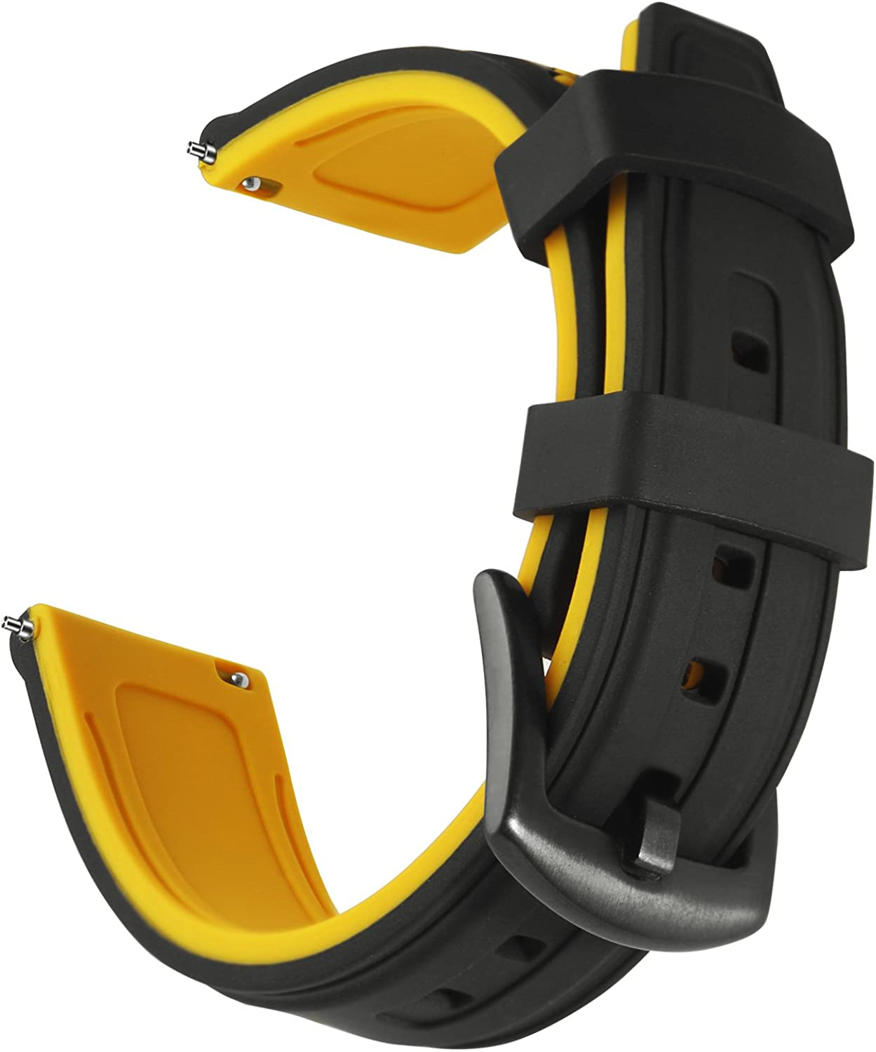 OLLREAR Silicone Watch Strap 55% OFF Replacement -6 Band Co Rapid rise Rubber