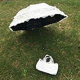 YZMBYUSAN Regenschirm Hochzeit Taschenschirm Outdoor Sunny Day Umbrella Princess Wedding -