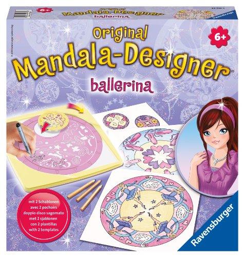 Ravensburger 29730 - Ballerina 2 in 1 - Midi Mandala-Designer
