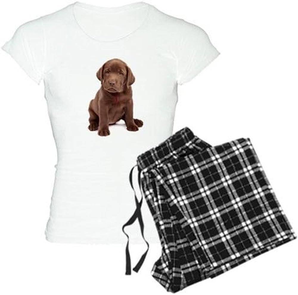 CafePress Chocolate Labrador PJs Puppy Over item handling ☆ Women's Detroit Mall