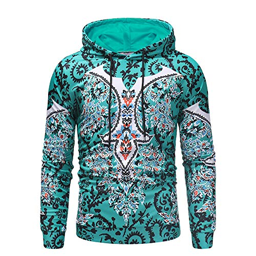 qulvyushangmaobu Frühling Herbst Winter Männer Hoodie Persönlichkeit Kreatives Drucken Sweatshirt Männer Hoodie Persönlichkeit Kreatives Drucken Sweatshirt Fashion Street Loose Hooded Sportswear
