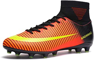 CR High Cleats Big Boys Size Assassin Messi Ankle Boots Women AG Outdoor  Soccer Shoes for d4a6243acb