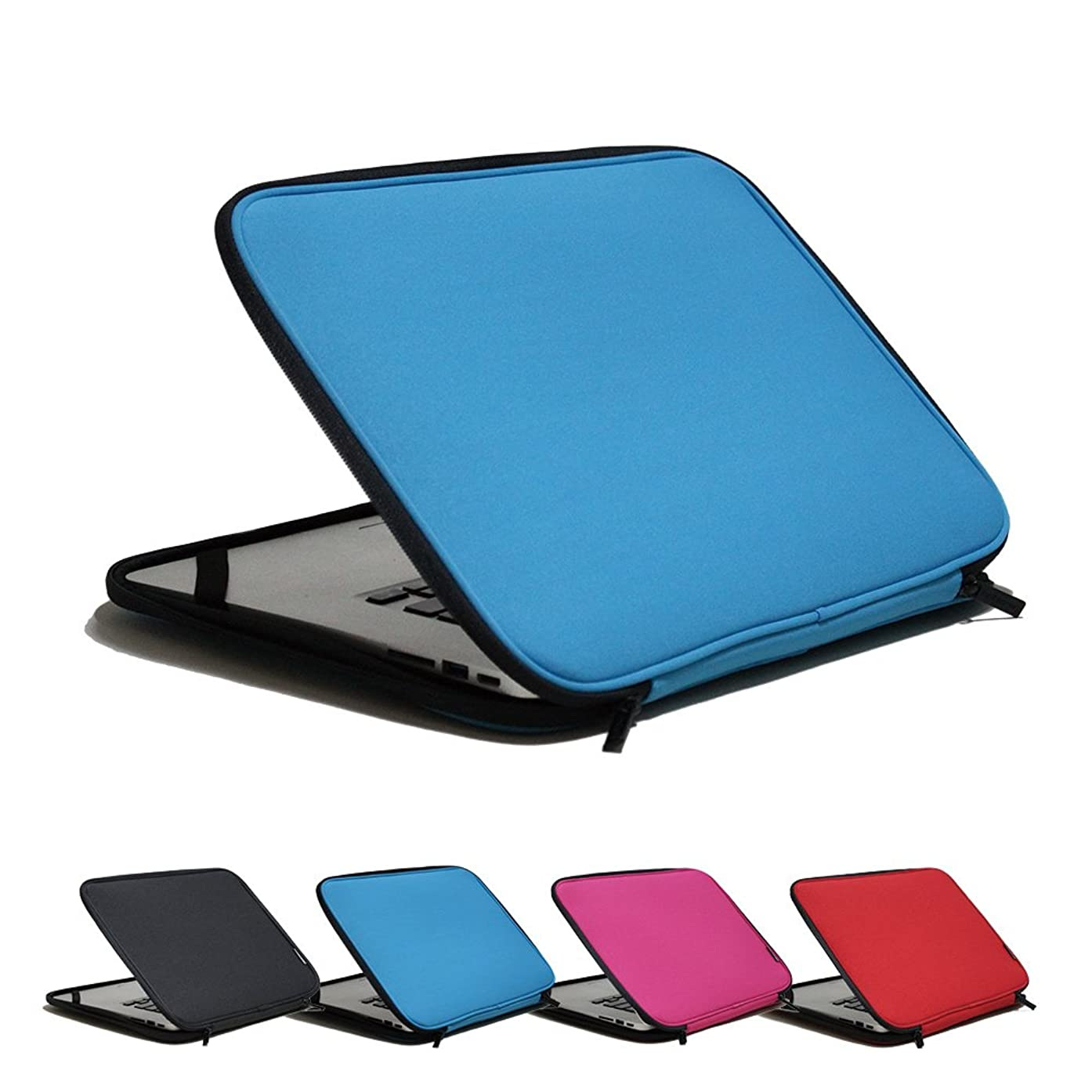 INTC-215X 15.6inch Sky-Blue Stand-Type Laptop Sleeve case Pouch