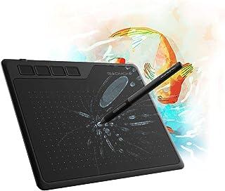 GAOMON S620 6,5 x 4 Pulgadas OSU Tableta Gráfica 8192 Niveles Presión con 4 Teclas Expresas y Pluma sin Batería para Dibujar y Jugar