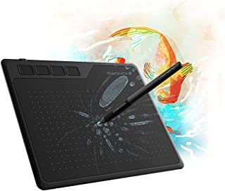 GAOMON S620 6.5 x 4 Inches Graphics Tablet with 8192 Pressure 4 Express Keys and Battery-Free Pen for Digital Drawing & OSU on Mac PC Android Device