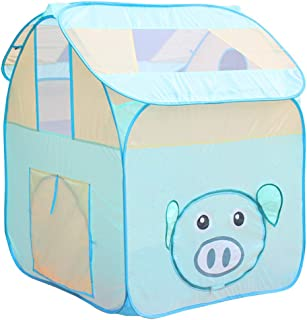 Perfeclan Piggy Play Tent – Kids Play and Exploration Discovery Station for Early Learning and Muscle Development – Indoor/Outdoor Use