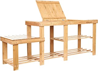 Best shoe rack with seat on top Reviews