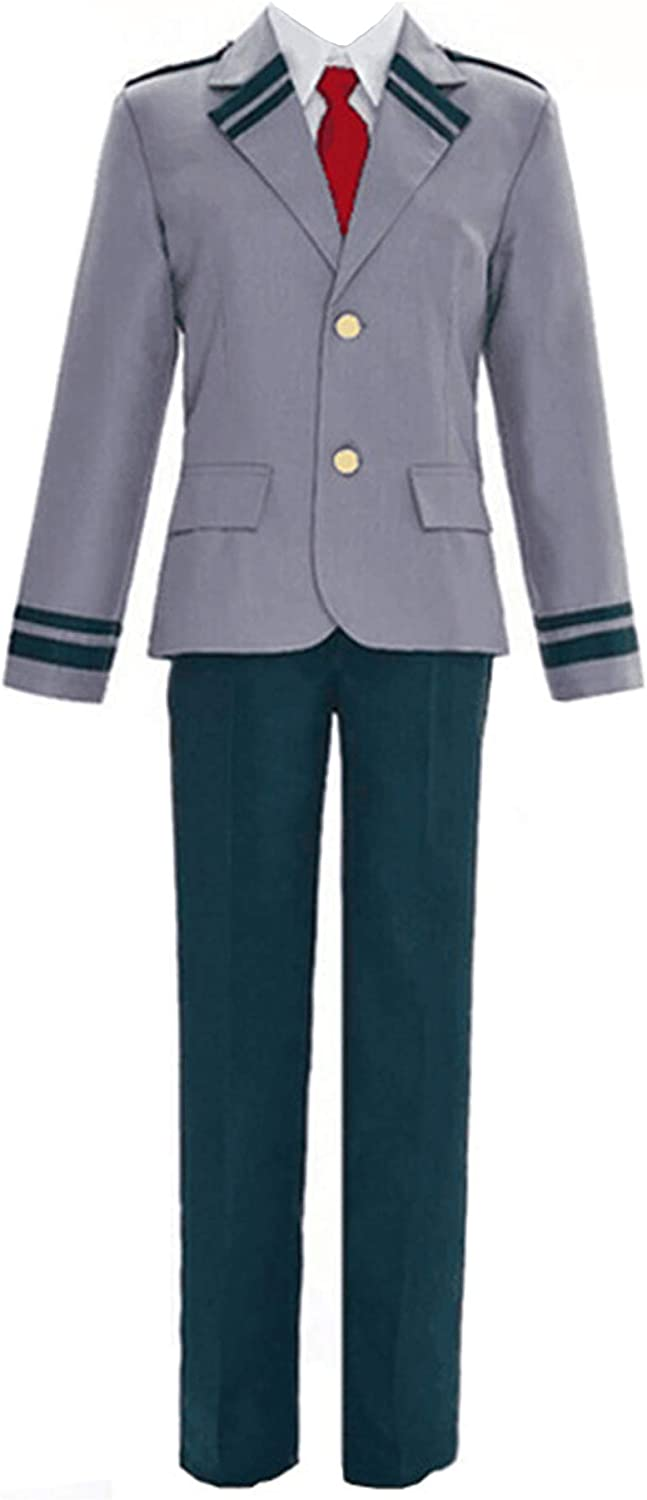 Limited time cheap sale XCJLW Men's High School Uniform Cosplay Tie Costume with 55% OFF