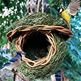 Settoo Aghi a Mano abeti Aghi Nido di Uccello, Appeso, Birdhouse, Giardino Deco