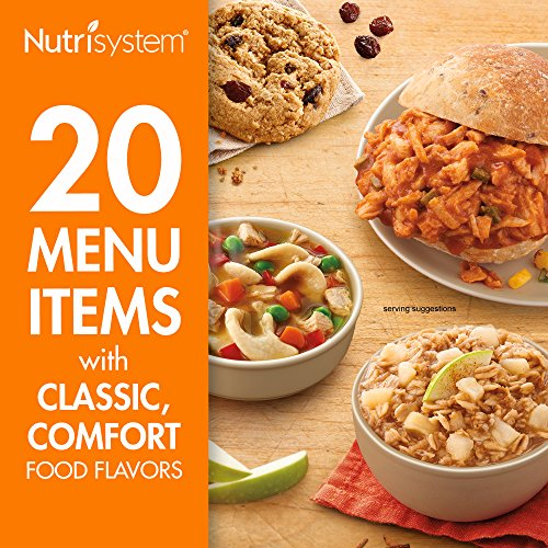 Nutrisystem 5-Day Homestyle Originals Weight Loss Kit, 20 Delicious Meals and Snacks
