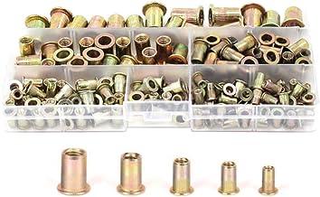 TR TOOLROCK 1010 tuercas remachadoras ciegas M5 M4 M8 M10 M12 juego de tuercas remachadoras M3 M6